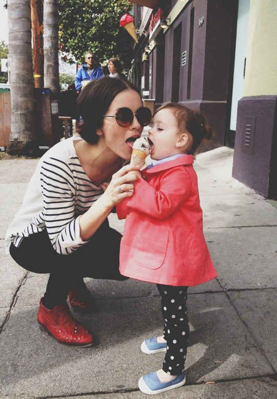 A Happy Fall For Mother And Daughter - Mother Daughter Bond - Mother Daughter