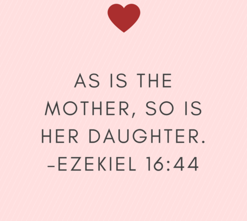 A Daughter Is Like Her Mother Mother Daughter Quotes Mother