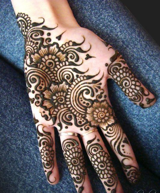 Simple Arabic Mehndi Design , Kids Arabic Mehndi Designs