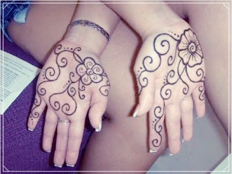 A Honey Bee Kids Front Hand Mehndi Designs Mehndi Designs