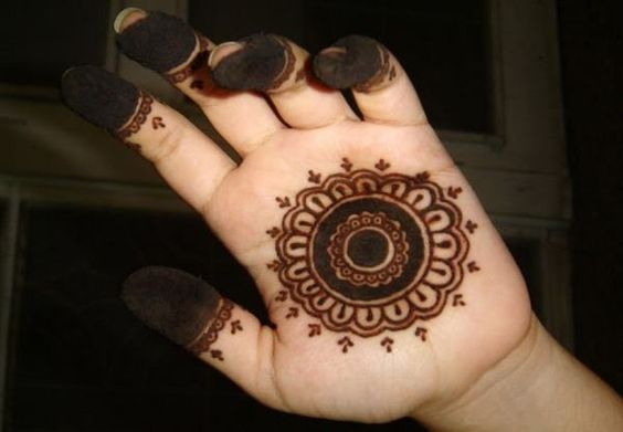 New Easy Mehndi Design for Front Hand , Kids Front Hand