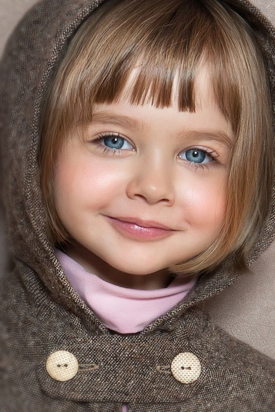 Smiling Baby With Big Blue Eyes - Blue Eyes Baby Pictures - Baby Pictures - Momcanvas-4201