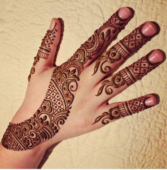 Mehandi Design Simple In Back: Back Hand Bail Mehndi Design - Simple Bridal Mehndi Designs - Mehndi rh:momcanvas.com,Design