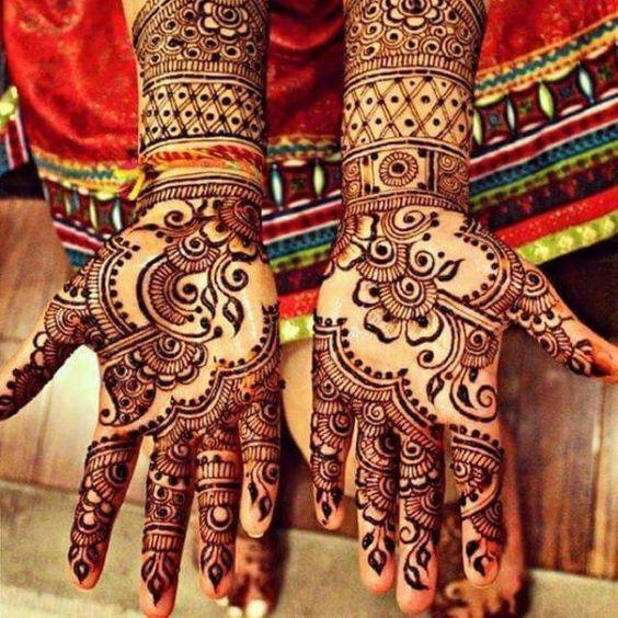 Indian Bridal Mehndi On Hands Indian Bridal Mehndi Designs