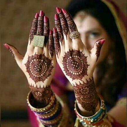 Mandala Styled Bridal Mehndi Design Simple Bridal Mehndi Designs