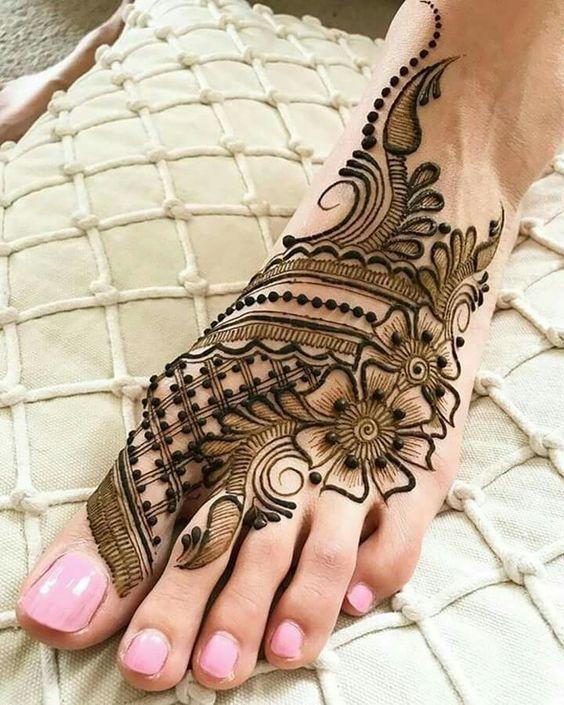 Astounding Foot Arabic Mehndi Design Foot Arabic Mehndi Designs