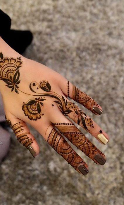 16 Best Simple Arabic Mehndi Designs Pictures Momcanvas