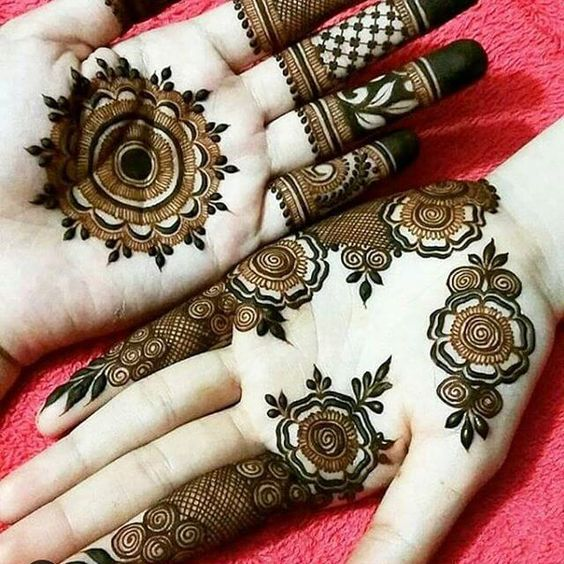Simple Arabic Mehndi Design For Front Hands Front Hand Arabic