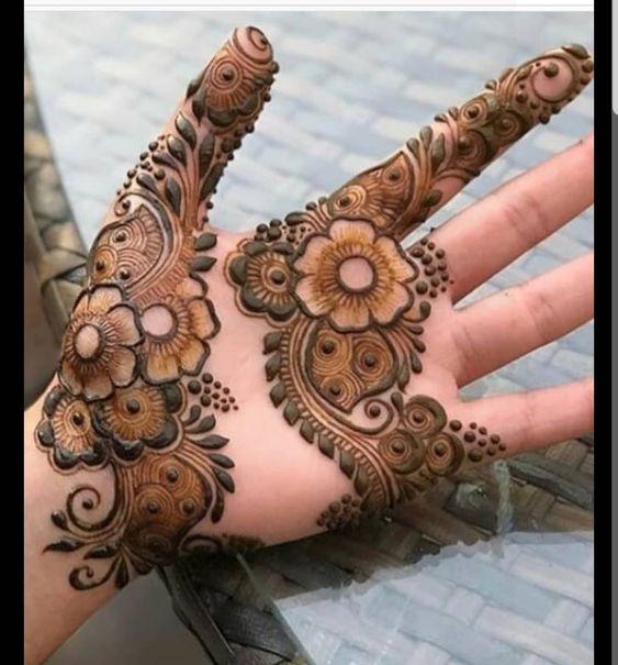 20 Best Front Hand Arabic Mehndi Designs Pictures Momcanvas