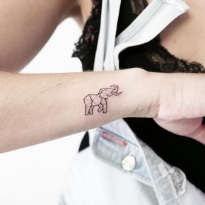 Cute Tiny Elephant Tattoo Elephant Simple Tattoos Simple Tattoos