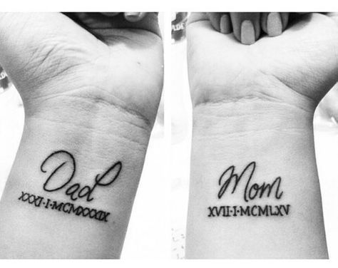 Classy Mom Dad Tattoos Mom Dad Simple Tattoos Simple Tattoos Momcanvas