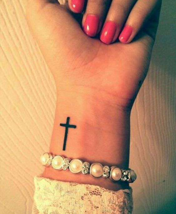 Simple Cross Tattoo For Women Simple Tattoos For Women Simple