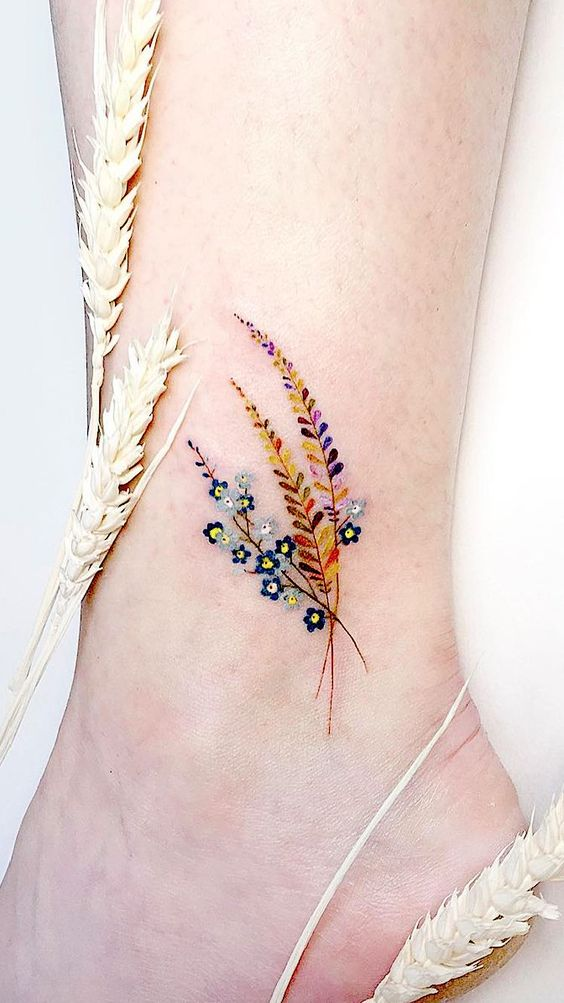 Simple Flower Tattoo For Women - Simple Tattoos For Women - Simple Tattoos - Momcanvas-5749