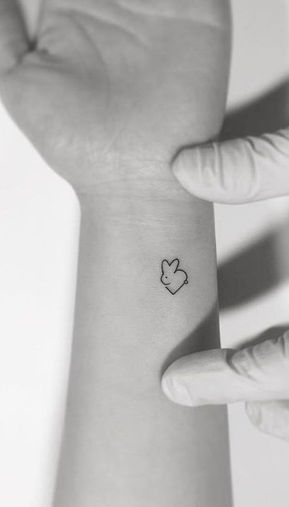 6201bb757 If you don't want to get big stuff inked on your body then how about tiny  and simple tattoos? Well, they are preferred by tons of people because they  have a ...