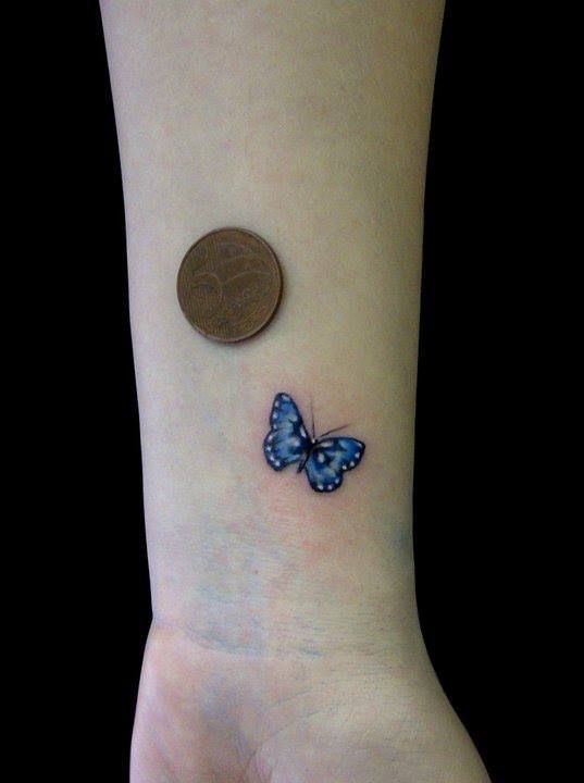 Small Butterfly Tattoo For Women