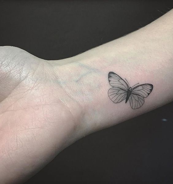 33b5c88872bc0 Butterflies have a beautiful and deep meaning behind them which is why  people love getting butterfly tattoos made on their bodies.