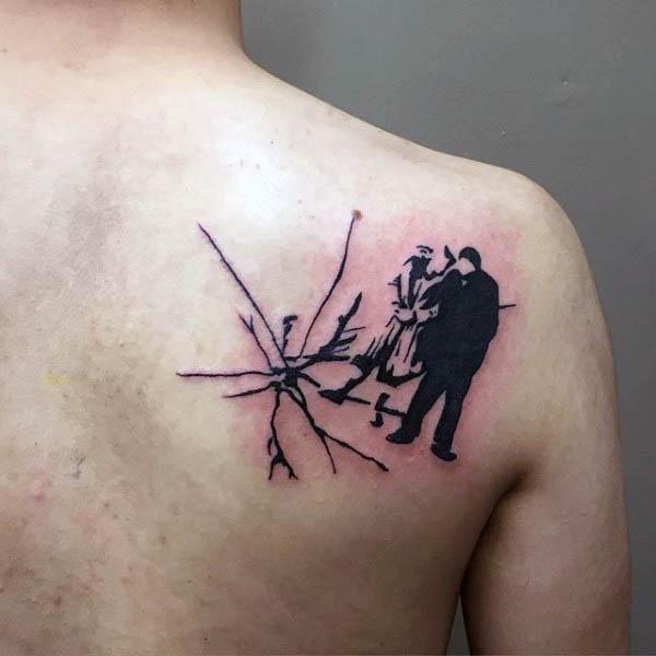 8fa160f16 Impeccable Silhouette Simple Tattoo - Silhouette Simple Tattoos - Simple  Tattoos - MomCanvas