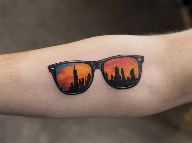 tattoo tattoos skin simple bang graffiti designs line sunglasses nyc artists tiny awesome