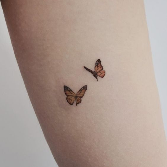 Pretty Butterfly Tattoo Butterfly Simple Tattoos Simple Tattoos