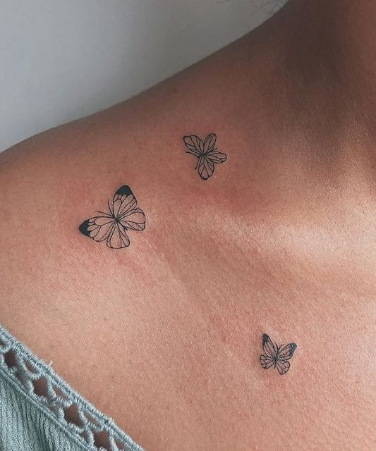 20 Best Small Butterfly Tattoos Pictures Momcanvas