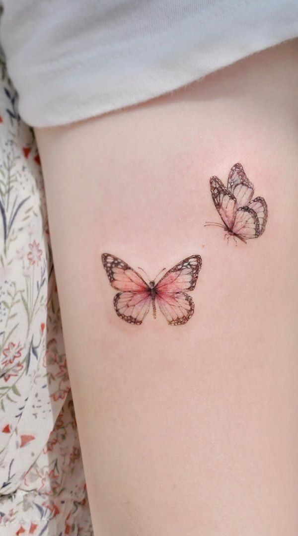 Standard Small Butterfly Tattoos
